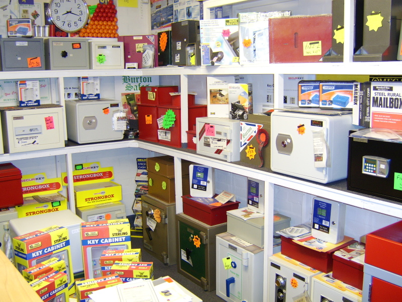 Showroom of Safes